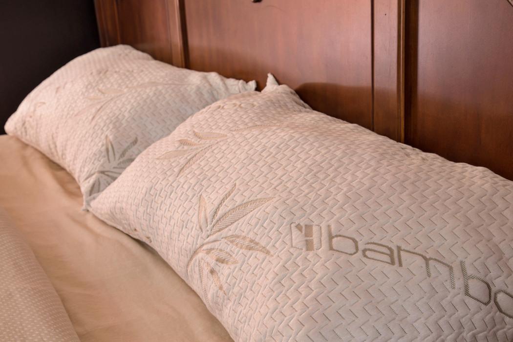 Bamboo Pillow King Guaranteed Comfort Staffent