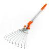 R1 Mini with tines open for work landscape rake, garden rake, lawn rake, adjustable rake