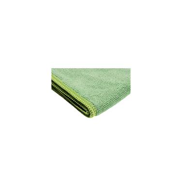 Green Microfiber Cloth can be used as a cleaning cloth on most everything. They are a lint free cloth like for cleaning glass or furniture.