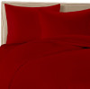 Scarlet Red Colored Bamboo Sheet