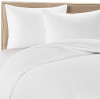 Winter White Colored Bamboo Sheet