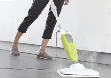 Smart living Steam mop. Light and easy to use Steam Mops by Smart Living