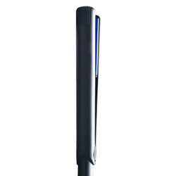"Jose Eber 1.5"" Straightening Iron Black with Blue Ceramic Plates"