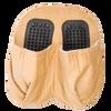 Foot Beige Pillow