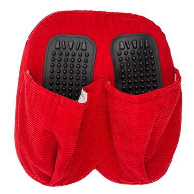 Foot Red Pillow