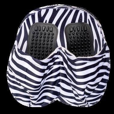 Foot Zebra Design Pillow