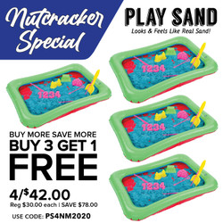 Play Sand Buy 3 Get 1 FREE