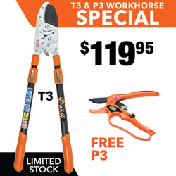 Tiger Jaw T3 & P3 ratchet pruner