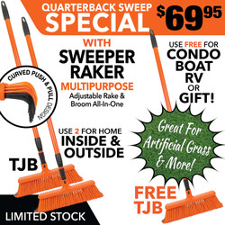 Broom rake  sweeper raker