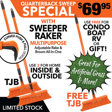 Broom rake  sweeper raker