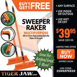 Buy 1 Get 1 Sweeper Raker FREE