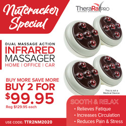 Nutcracker Special BUY 2  TheraRayPro's