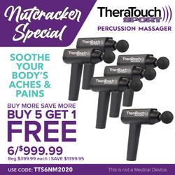 Percusive Therapy TheraTouch Sport Percusive Therapy Massage Therapy