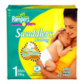 Pampers® Swaddlers™ Baby Diaper Tab Closure Size 1 Disposable Heavy Absorbency (Case of 240) (Proctor & Gamble 6729 OR 10037000067297)