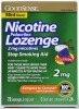 Stop Smoking Aid GoodSense 2 mg Lozenge (Case of 6) (Geiss, Destin & Dunn LP34405)