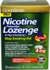 Stop Smoking Aid GoodSense 4 mg Lozenge (Case of 6) (Geiss, Destin & Dunn LP87305)