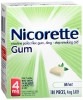 Stop Smoking Aid Nicorette 4 mg Gum (1 Box) (Glaxo Smith Kline 135023004)