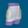 Hip Protection Brief Hipsaver Wrap and Snap X-Small White Unisex (1 EA) (Alimed 72738)