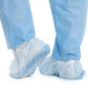 Boot Cover Sterile View Medium Knee- High Non-Skid Light Blue NonSterile (1 Pair) (Depuy 540952000)