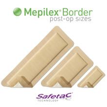 Mepilex Border Post-Op Dressing 4x12 inch
