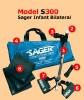 Bilateral Traction Splint Super Sager Model S300 (1 EA) (Minto Research & Development S300)