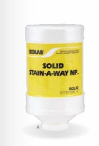 Ecolab 6100308 Low Temp Laundry Solid Destainer 4 Lb. High Quality case Of 2