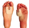 Callus Pad 1/8 Inch Adhesive (Bag of 100) (Dr. Jill's Foot Pads Inc. J-18W FELT 1/8)