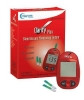 Blood Glucose and Cholesterol Meter Kit Clarity II 15 Seconds Glucose, 30 Seconds Cholesterol Stores Up To 99 Results Automatic Coding (1 Kit) (Diagnostic Test Group DTG-CHGLMETERPRO)