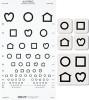 Distance Vision Eye Chart 6 Meter (1 EA) (Good-Lite 800724)