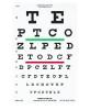 Distance Vision Eye Chart 20 Foot Snellen (1 EA) (Good-Lite 600727)