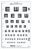 Distance Vision Eye Chart Good-Lite 6 Meter (1 EA) (Good-Lite 600735)