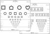 Distance Vision Eye Chart Good-Lite 3 Meter Folding (1 EA) (Good-Lite 250200)