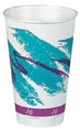 Drinking Cup Trophy 12 oz. Jazz Styrofoam Disposable (Case of 1000) (Lagasse SCC X12J)