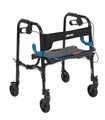 4 Wheel Rollator Clever-Lite Blue Junior Aluminum (1 EA) (Drive Medical 10230J)