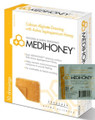 MEDIHONEY® Square 2 X 2 Inch Calcium Alginate Dressing With Active Leptospermum Honey (Box of 10)