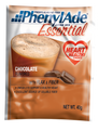 PhenylAde® Essential PKU Oral Supplement Chocolate 40 Gram Pouch Powder (Case of 16) (Applied Nutrition 95014)