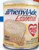 PKU Oral Supplement PhenylAde Essential Vanilla 1 lb. Can Powder (Case of 4) (Applied Nutrition 9502)