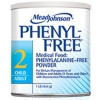 PKU Oral Supplement Phenyl-Free 2 Vanilla 1 lb. Can Powder (Case of 6) (Mead Johnson 891301)