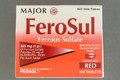FeroSul Ferrous Sulfate 325 mg Tablet (Pack of 100 Tablets) (00904759082)