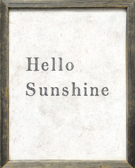Sugarboo Designs Hello Sunshine Art on Wood