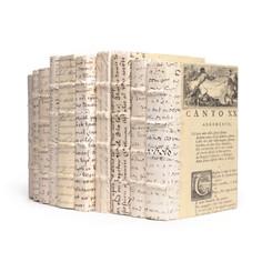 Linear Foot Antique Vellum Script Books