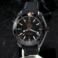 OMEGA Seamaster DEEP BLACK PLANET OCEAN GMT 600M Ceramic 215.92.46.22.01.001
