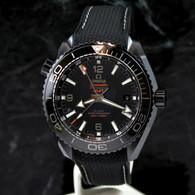 OMEGA Seamaster DEEP BLACK PLANET OCEAN GMT 600M Ceramic 215.92.46.22.01.001