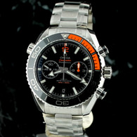 OMEGA SEAMASTER Planet Ocean Chrono ORANGE 46mm CoAxial 215.30.46.51.01.002