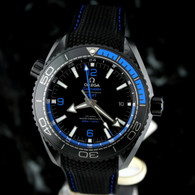 OMEGA Seamaster BLUE DEEP BLACK PLANET OCEAN GMT Ceramic 215.92.46.22.01.002