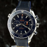 OMEGA SEAMASTER Planet Ocean Chrono BLUE 46mm CoAxial 215.33.46.51.03.001