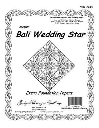 Bali Wedding Star Extra Foundations