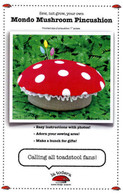 Mondo Mushroom Pincushion Pattern