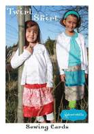 Twirl Skirt Sewing Card