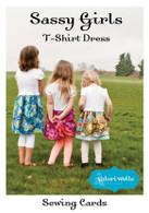 Sassy Girls T-Shirt Dress Sewing Card